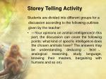 storey telling activity