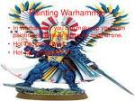 painting warhammer