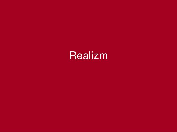 realizm n.