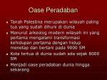 oase peradaban