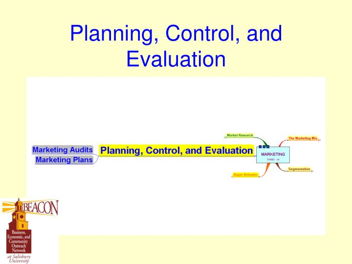 Planning, Control, and Evaluation