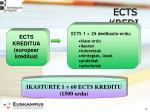 ects kreditua
