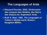 the languages of arda1