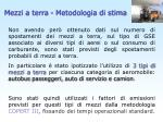 mezzi a terra metodologia di stima1