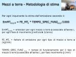 mezzi a terra metodologia di stima2