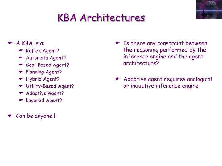 A KBA is a: