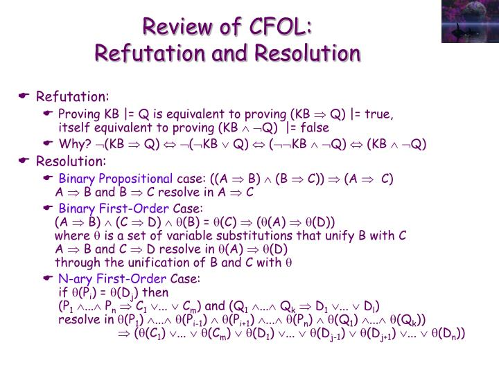 Review of CFOL: