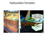 hydrocarbon formation