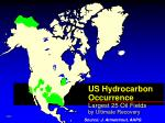us hydrocarbon occurrence largest 25 oil fields by ultimate recovery