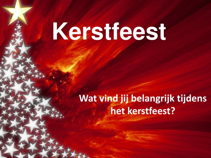 kerstfeest n.