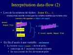 interpr tation data flow 2