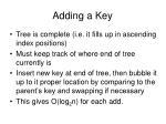 adding a key