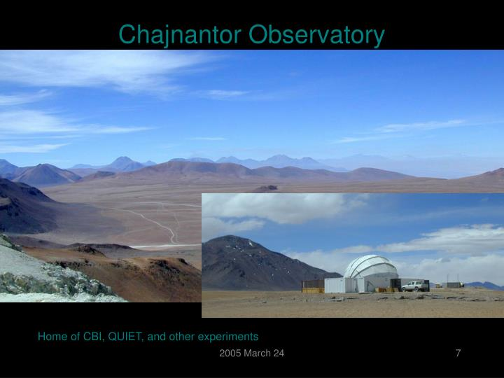 Chajnantor Observatory