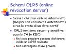 schemi olrs online revocation server