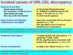 invoked causes of orl cel discrepancy1