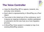 the voice controller