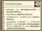 sociedades actos preliminares para la constituci n de una empresa