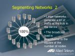 segmenting networks 2