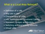 what is a local area network