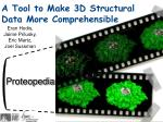 a tool to make 3d structural data more comprehensible