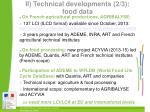 ii technical developments 2 3 food data
