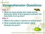 comprehension questions8