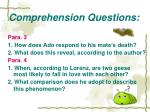 comprehension questions9