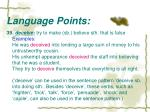 language points29