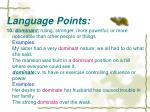 language points6