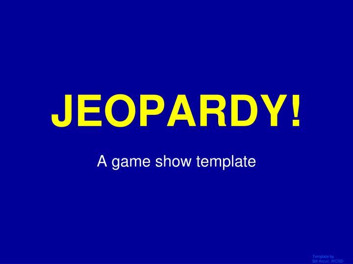 jeopardy n.