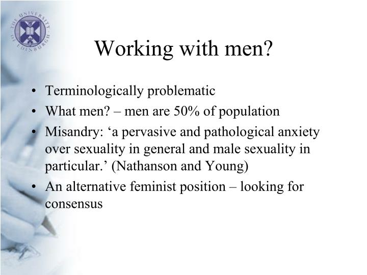 Working with men?