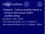 string functions2
