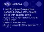 string functions5