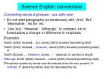 science english connections