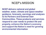 ncep s mission