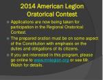 2014 american legion oratorical contest