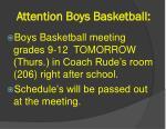 attention boys basketball