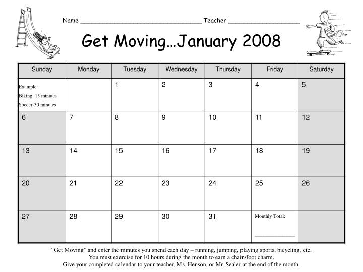 name teacher get moving january 2008 n.