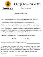 camp tonchu 20133