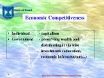 economic competitiveness