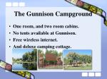 the gunnison campground