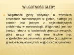 wilgotno gleby