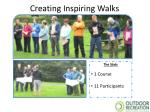 creating inspiring walks