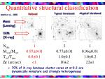 quantitative structural classification