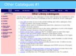 other catalogues 1