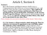article i section 6