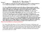 article i section 7