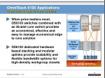 omnistack 6100 applications economical edge to core solution