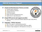 os6100 service support extended business partner worldwide maintenance programs