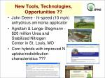 new tools technologies opportunities